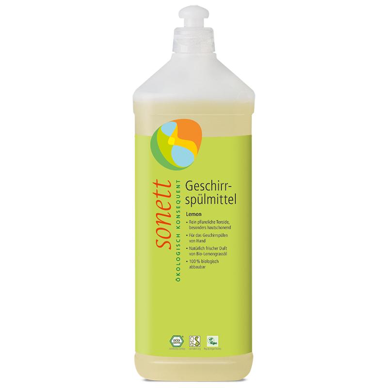 SONETT Geschirrspülmittel LEMON, Nachfüllflasche (1 Liter)