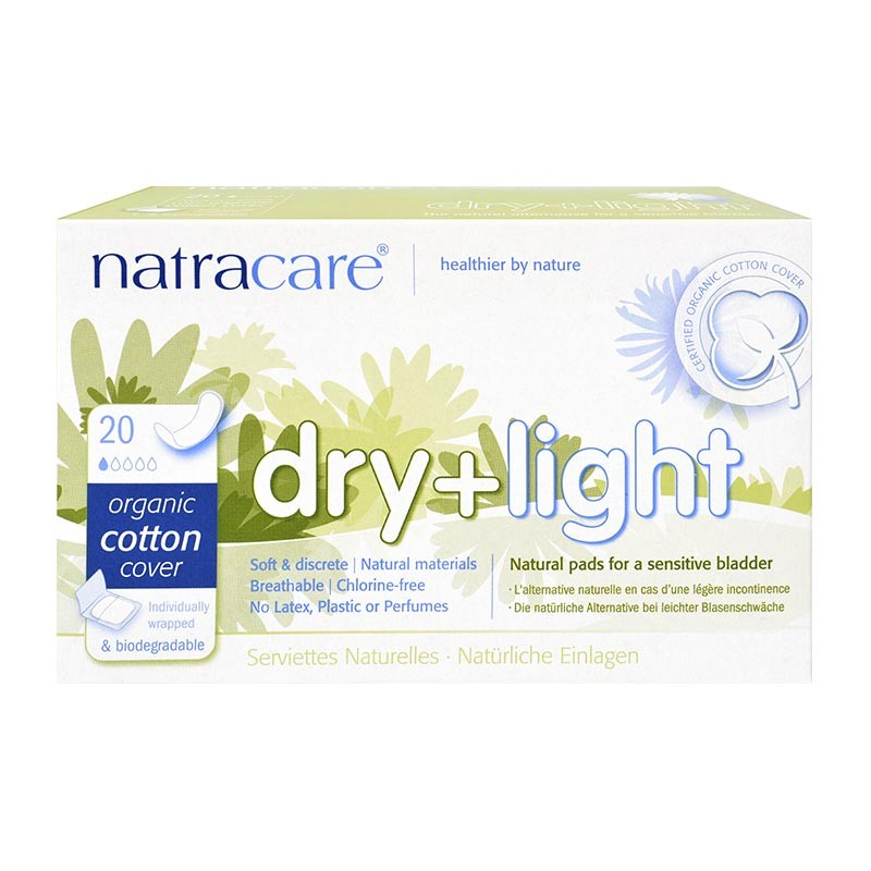 NATRACARE Damenbinden DRY+LIGHT SLIM (20 Stück) #3508