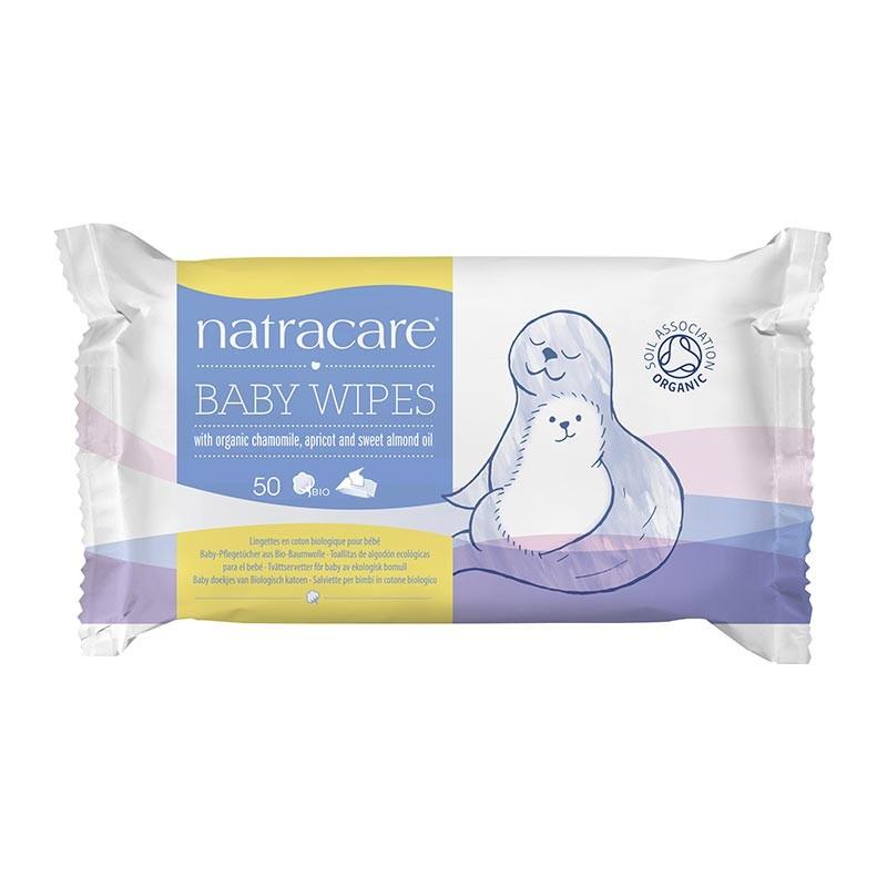 NATRACARE Bio Baby-Pflegetücher (50 Stück) #0112