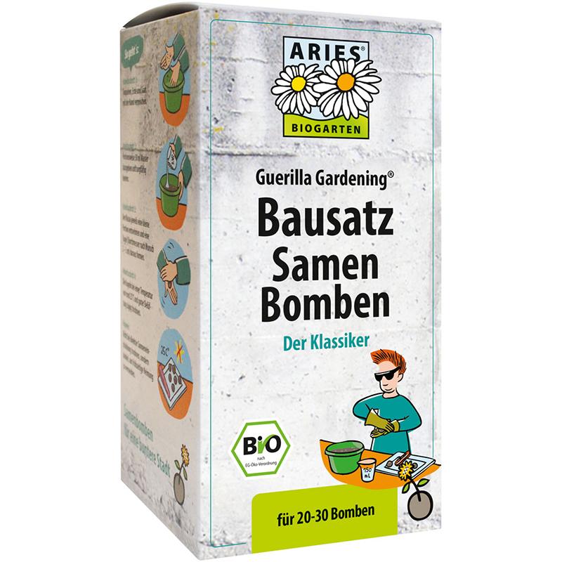 ARIES BIO Guerilla Gardening Samenbomben BAUSATZ (*)