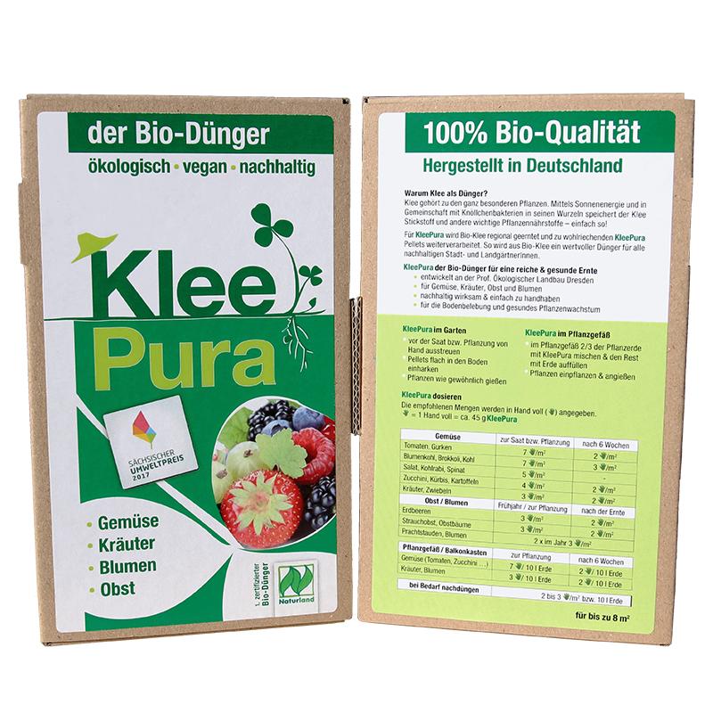 KleePura Bio-Dünger (750 g) – Bild 1