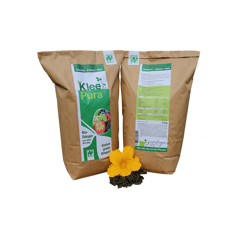 KleePura Bio-Dünger (5,00 kg) – Bild 1